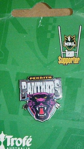 Penrith Panthers Old NRL Team Logo Collectable Lapel Hat Tie Pin Badge