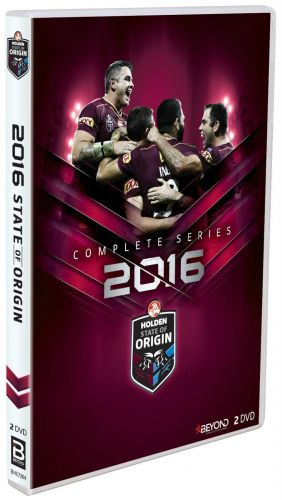 2016 State of Origin Complete Series 2 DVD Set The Mighty Maroons Queensland