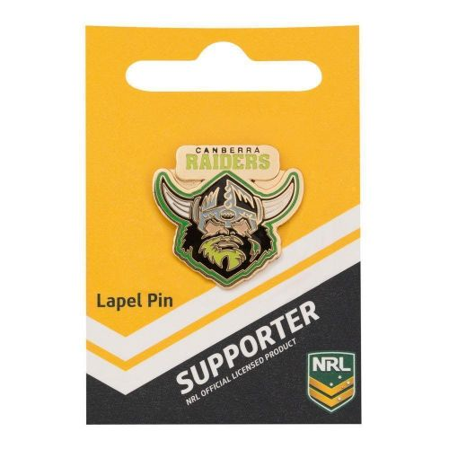 Canberra Raiders NRL Team Logo Collectable Lapel Hat Tie Pin Badge