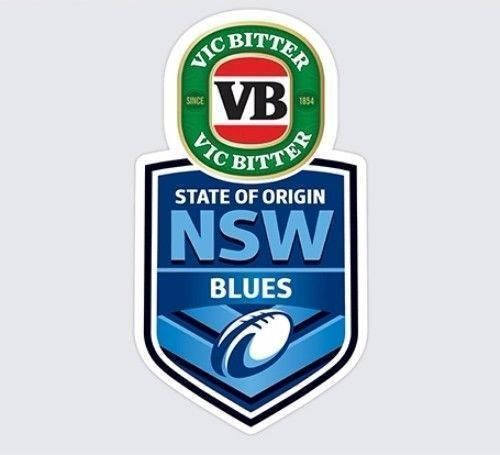 New South Wales Blues State of Origin Car Monster Decal SOO NSW