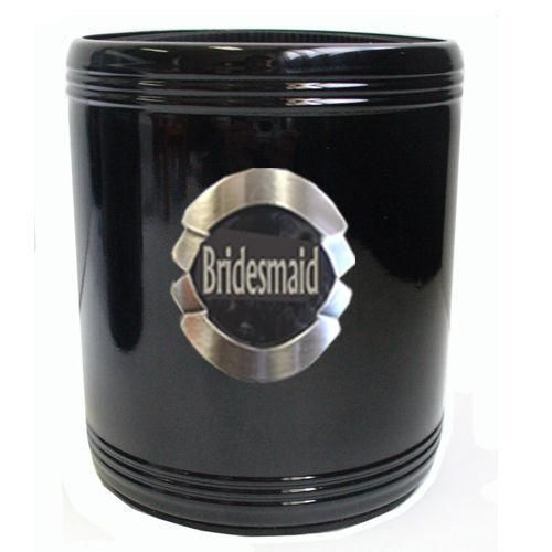Bridesmaid Stainless Steel Can Cooler Stubby Holder Wedding Table Bridal Party Toasting Celebration