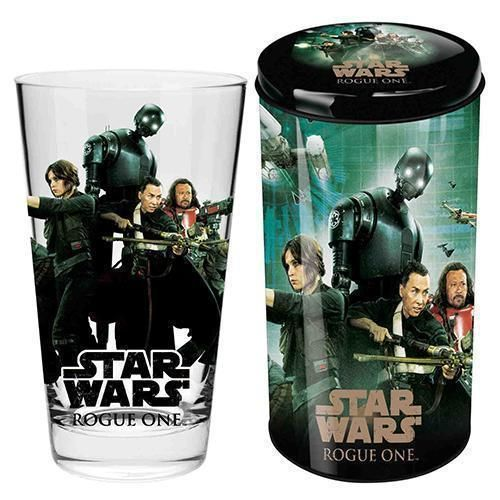 Rogue One Star Wars Collector Conical Glass in Tin Money Box