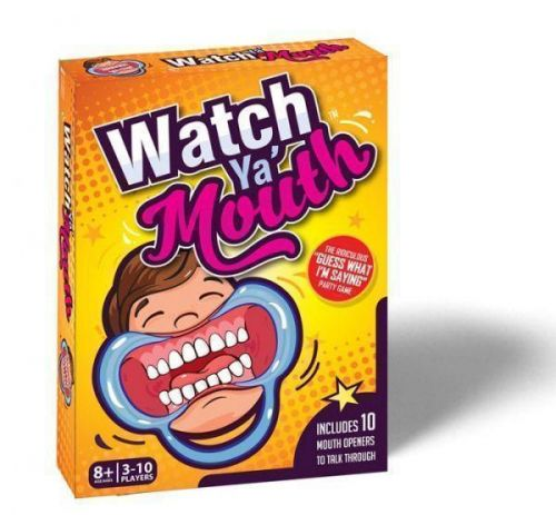 Watch Ya' Mouth Mouthguard Party Game With Random Phrases