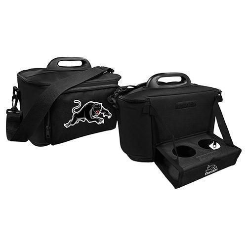 Penrith Panthers NRL Large Esky Insulated Lunch Cooler Bag With Drinks Tray