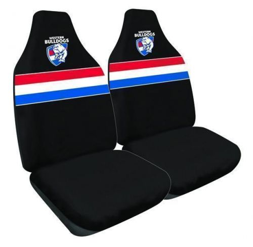 Western Bulldogs  AFL 2 Front Car Seat Covers
